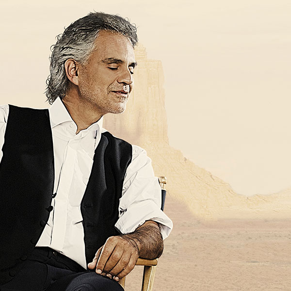 """Andrea Bocelli in """"Cinema"""" at Forte Arena"""