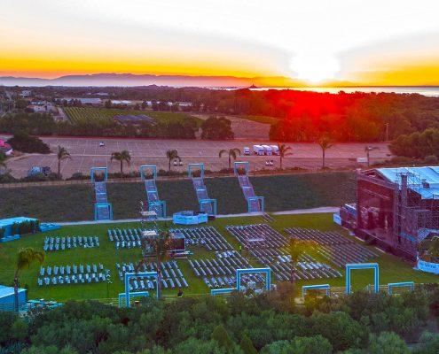Forte Arena al tramonto